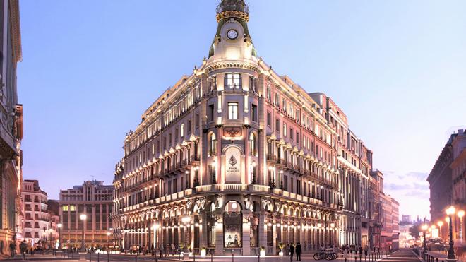 hotel principal de madrid